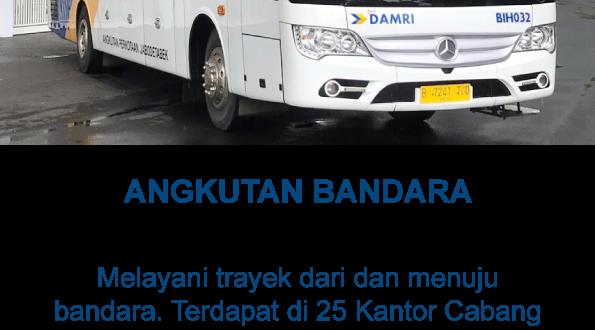 Trayek Damri Bandara Soekarno Hatta ke Jabodetabek 2019