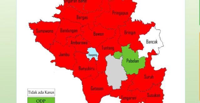 Monitoring Data COVID-19 Kabupaten Semarang Per 1 Juli 2020