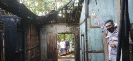 Rumah Wiro Supar Warga Pendem Sumberlawan Sragen Terbakar