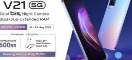 Harga Vivo V21 5G  Sudah  Dijual di Indonesia, Ini Spesifikasinya